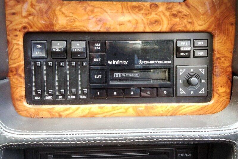 1991 CHRYSLER TC 2DR CONVERTIBLE